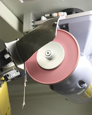Smooth Touch Wheel on AV&R Vision & Robotics finishing machine