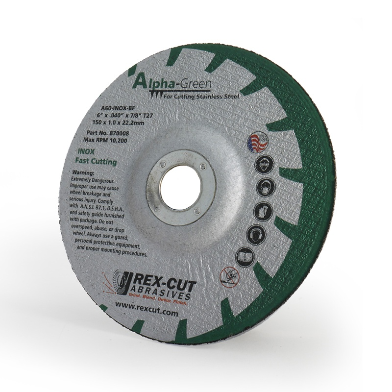 Alpha-Green Cut-Off Wheel