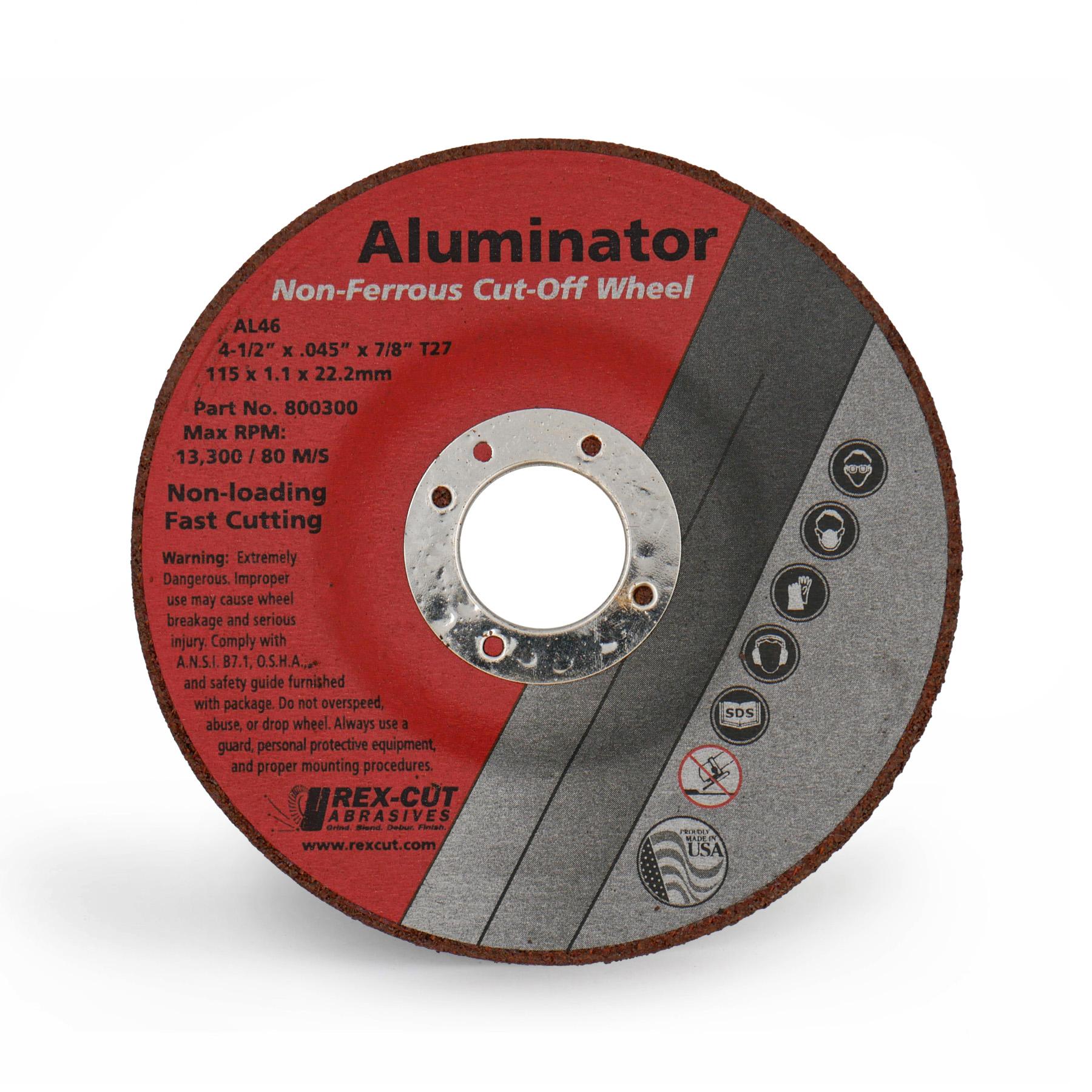 Aluminator Cut-Off Wheel