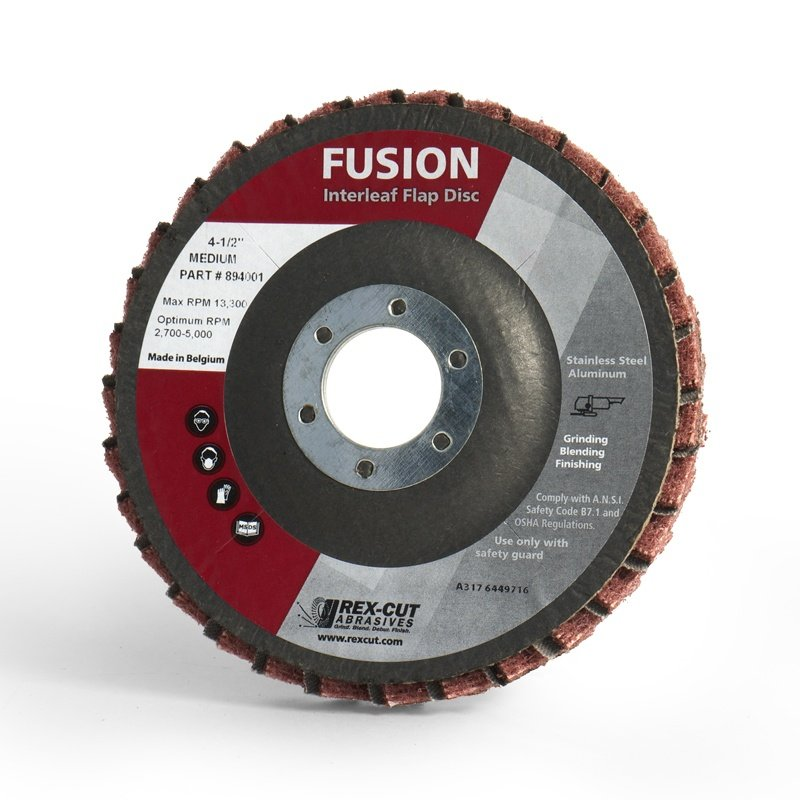 Fusion Interleaf Flap Disc