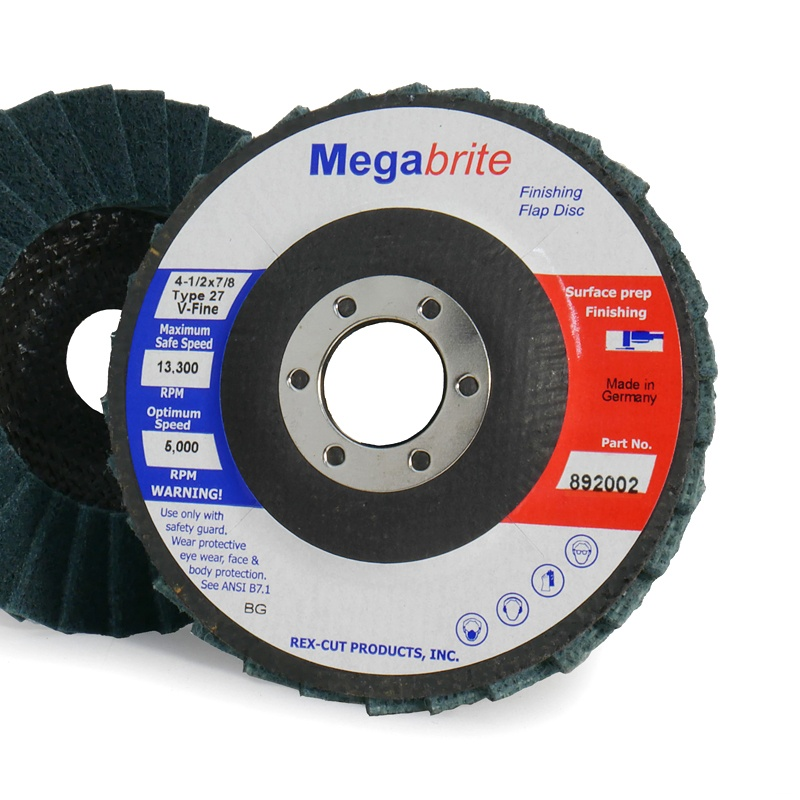 Megabrite Type 27 Finishing Flap Disc