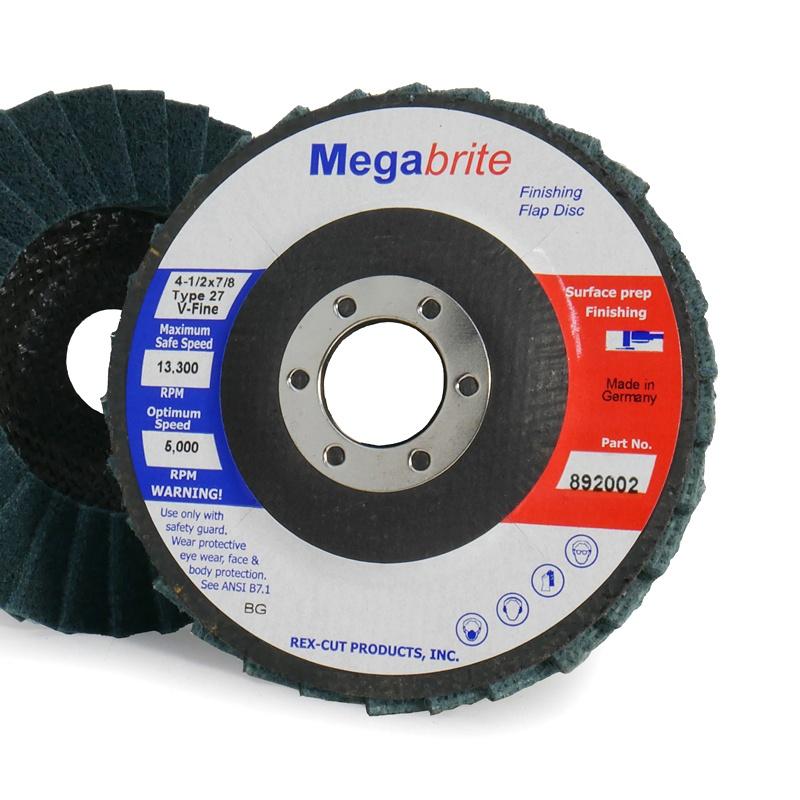 Megabrite Type 27 Finishing Flap Disc