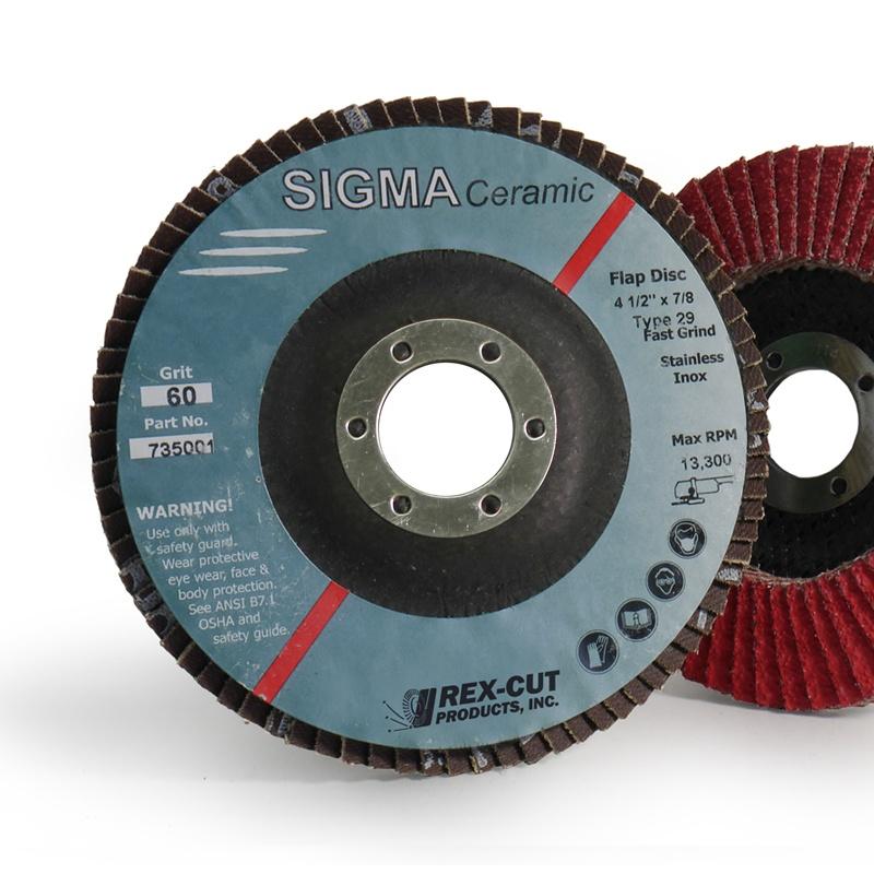 Sigma Ceramic Flap Disc