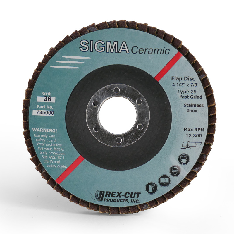Sigma Ceramic Flap Disc